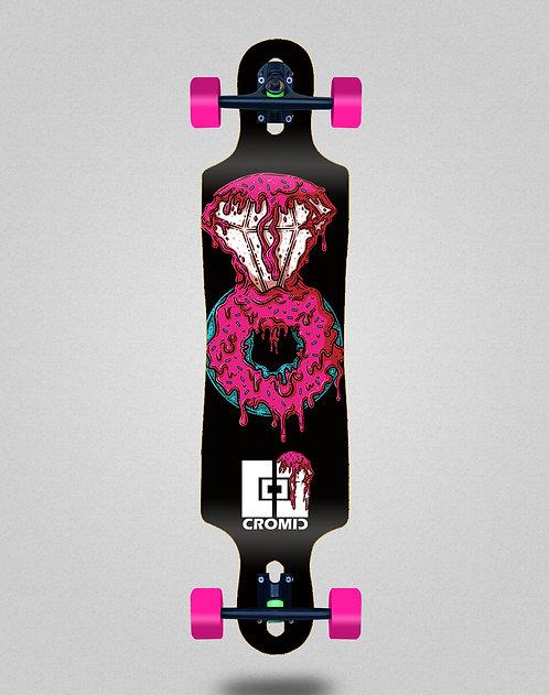 Cromic Donat pink longboard complete 40x9
