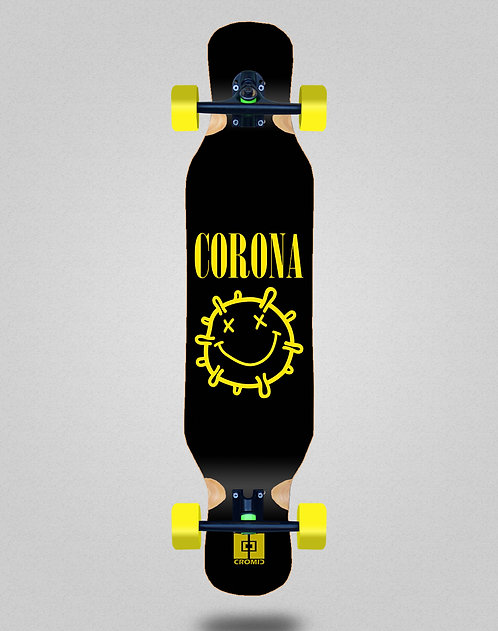 Cromic Covid Corona longboard complete 46x10