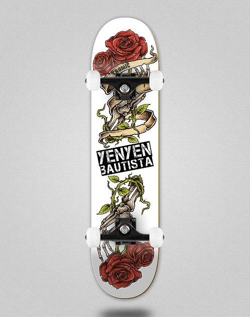 Cromic Yenyen present white skate complete