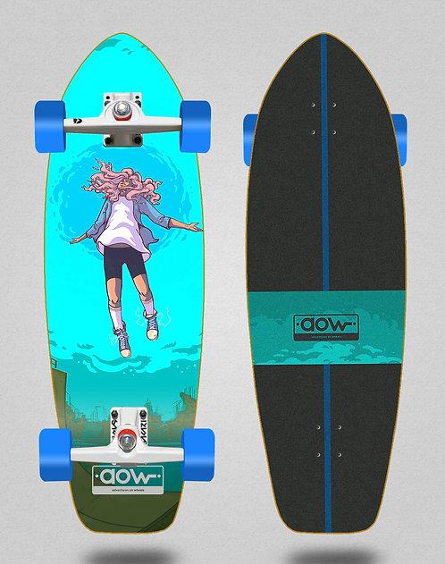 Aow surfskate SGI trucks Floating blue 31