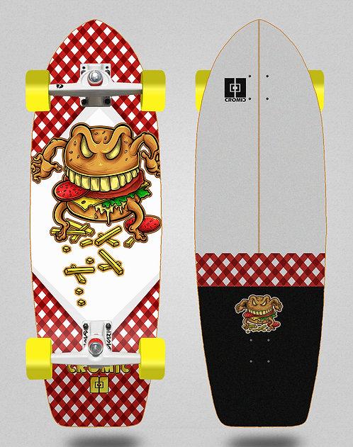 Cromic surfskate SGI trucks Burger crazy food 29