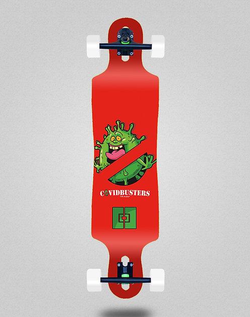 Cromic Covid Busters longboard complete 40x9