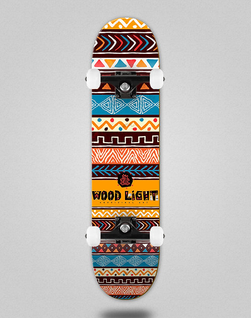 Wood light Aborigal inca skate complete