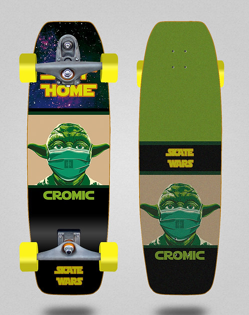 Cromic surfskate T12 trucks C19 Skate wars 31.5