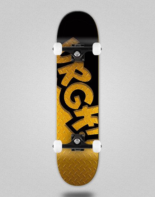 Urgh classic black gold skate complete