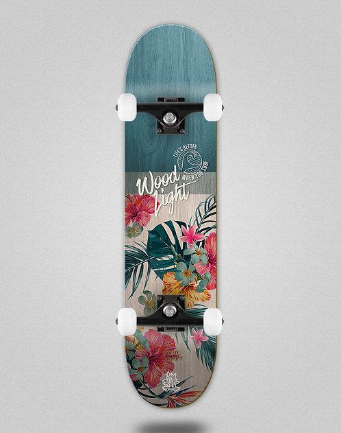 Wood light Floral Haiti skate complete