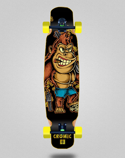 Cromic Donkey crazy food longboard dance complete mix bamboo 46x9