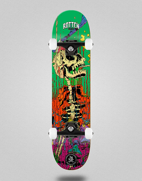 Wood light Rotten series green skate complete