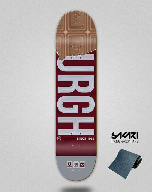 Urgh skate deck Chocolat