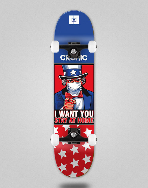 Cromic Covid I want you skate complete
