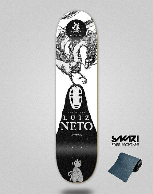 Wood light skate deck Luiz Neto pro alliance
