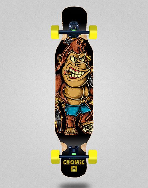 Cromic Donkey crazy food longboard complete 46x10