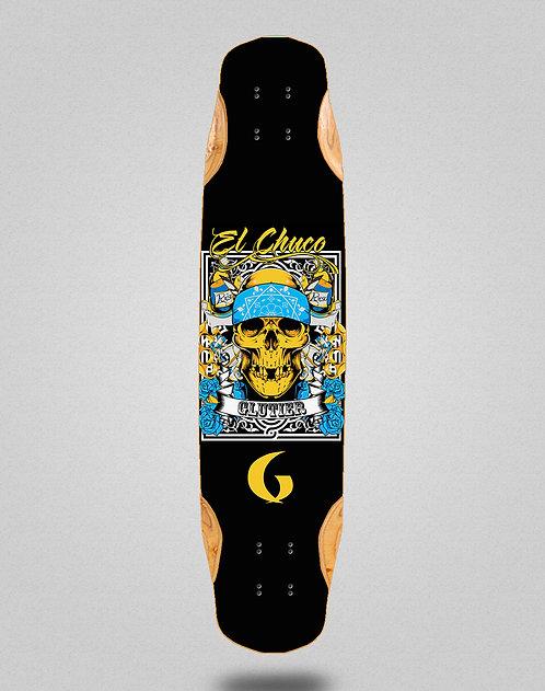Glutier Chuco longboard deck 38x8.45
