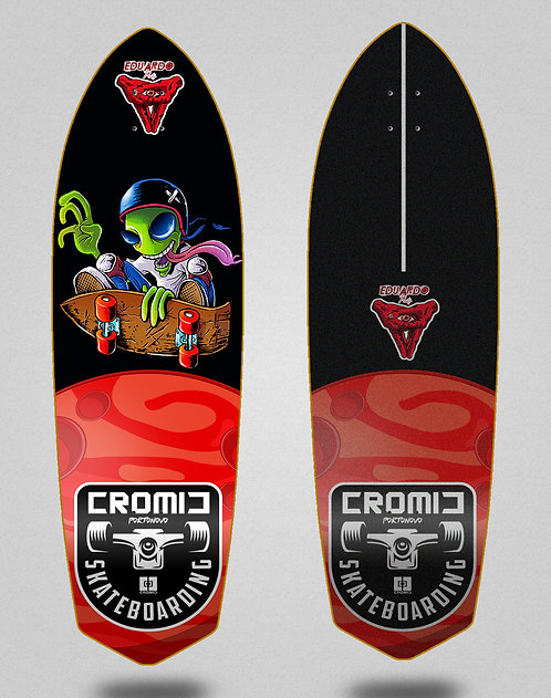 Cromic surfskate deck Eduardo Prieto Air alien 33