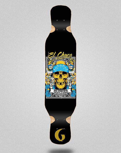 Glutier Chuco longboard deck 46x10
