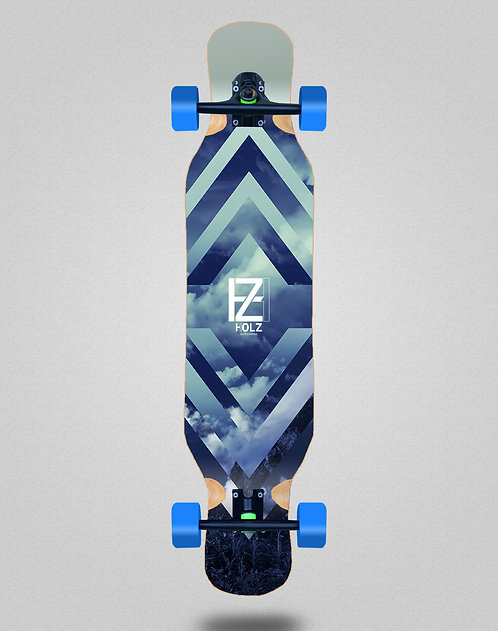 Holz Clouds gram longboard complete 46x10