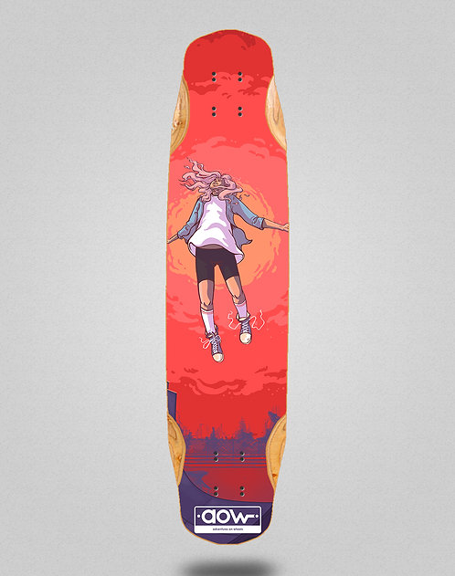 Aow Floating longboard deck 38x8.45