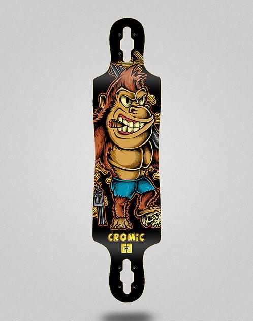 Cromic Donkey crazy food longboard deck 40x9