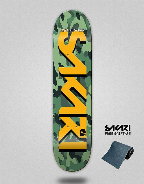 Sakari Camo skate deck
