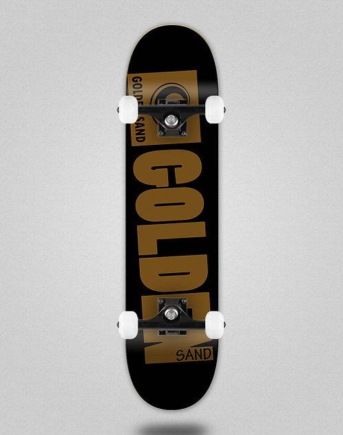 Golden Sand Degraded blk brwn skate complete