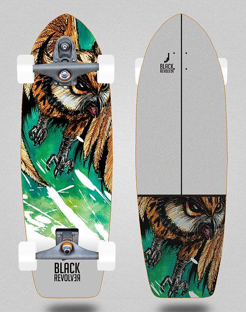 Black Revolver surfskate T12 trucks Acril buho 29