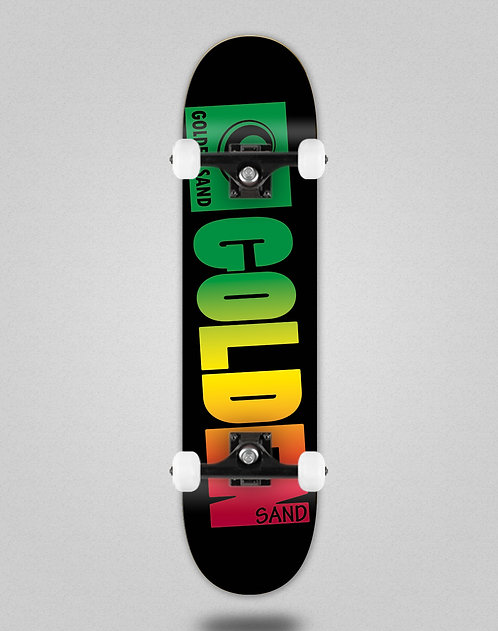 Golden Sand Degraded rasta skate complete