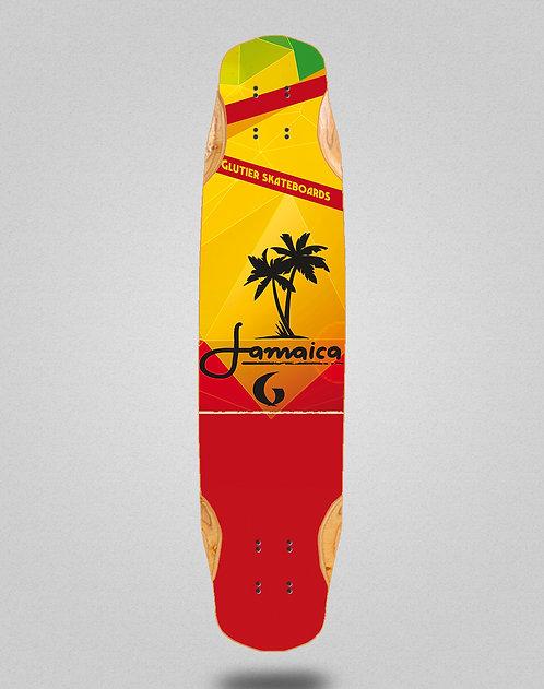 Glutier Jamaica longboard deck 38x8.45