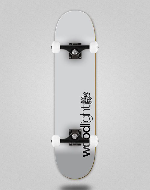 Wood light Basic grey skate complete
