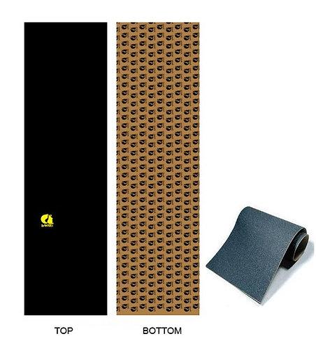 Sakari skate griptape Classic yellow Anti bubbles 84x23cm