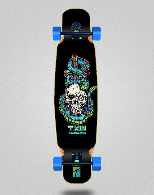 Txin Blue snake longboard dance complete 46x9