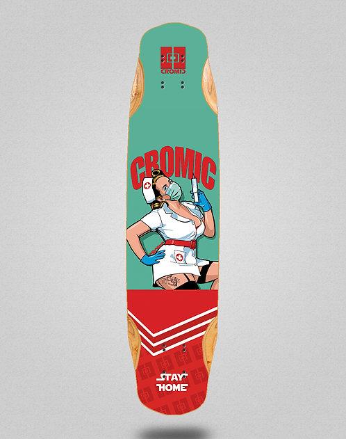 Cromic Covid Nurse longboard deck 38x8.45