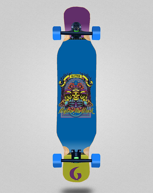 Glutier Before the dark longboard complete 46x10