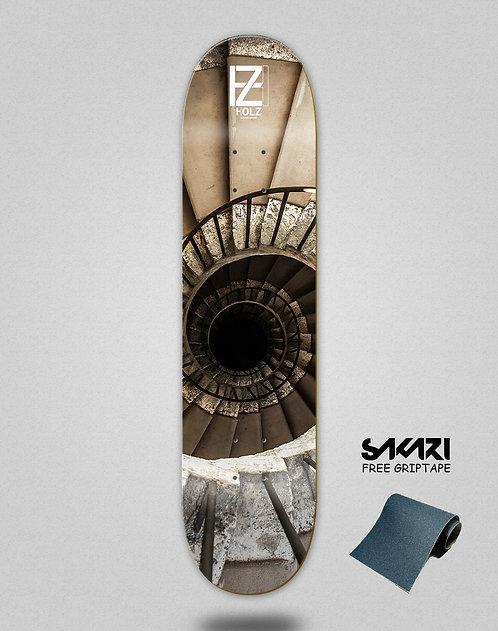 Holz Stairs Oporto skate deck