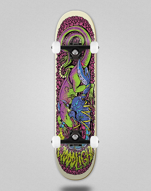 Wood light Attack series on stone skate complete