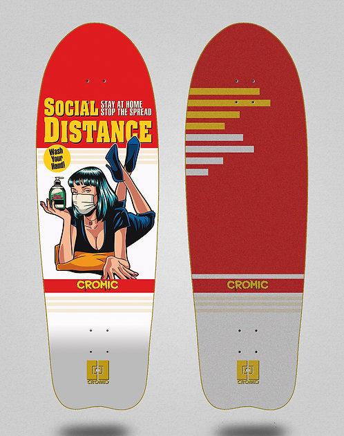 Cromic surfskate deck Covid Social distance 31