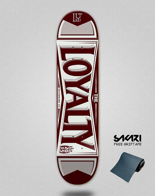 Loyalty deck Label brown