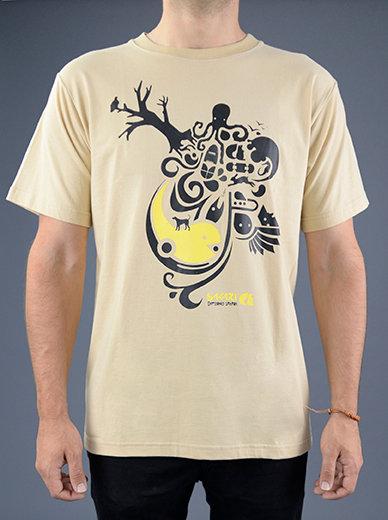 Sakari clothing - T-shirt Vin art sand