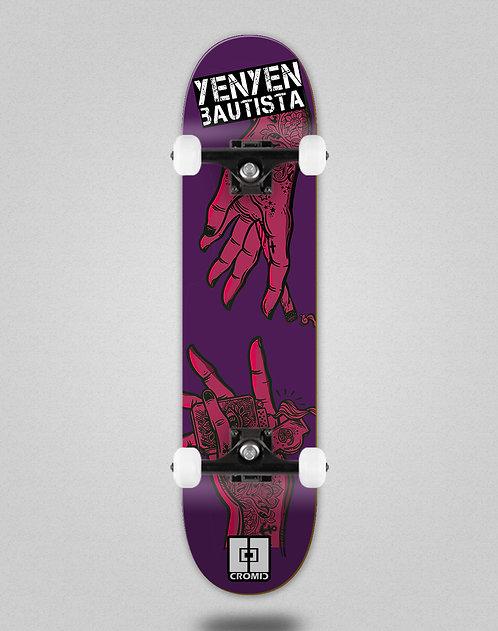 Cromic Yenyen hands purple pink skate complete