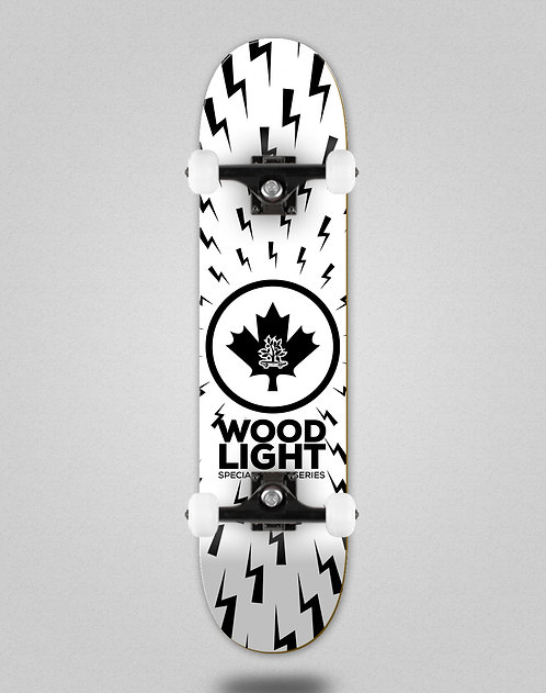 Wood light complete maple series thunders white