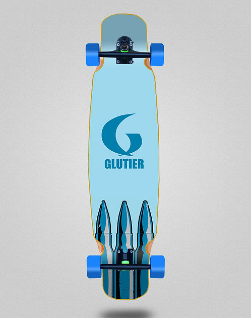 Glutier Bullets longboard dance complete 46x9