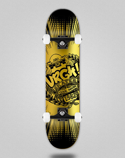Urgh Trade black golden skate complete