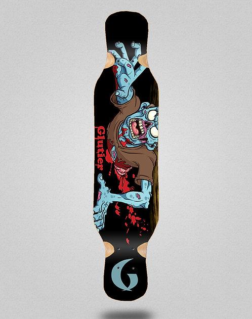 Glutier Final zombie longboard deck 46x10