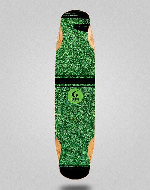 Glutier Grass new longboard deck 38x8.45