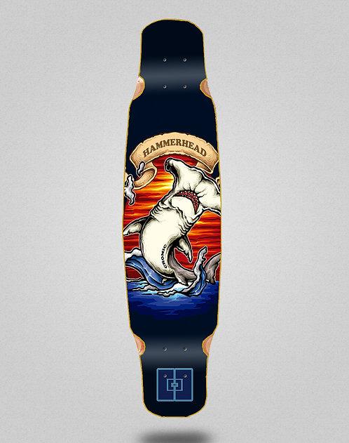 Cromic Hammerhead longboard deck dance 46x9