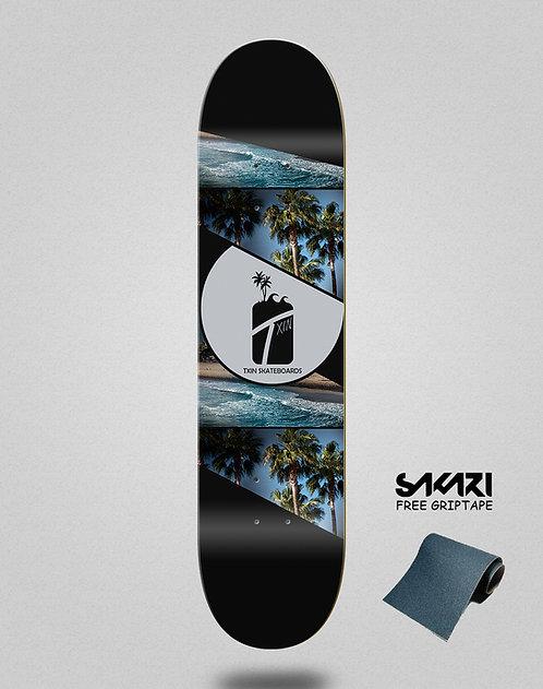 Txin wave coast skate deck