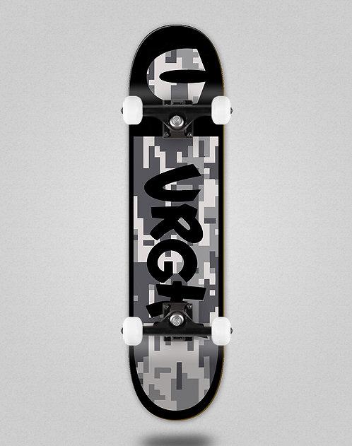 Urgh Camo grey skate complete