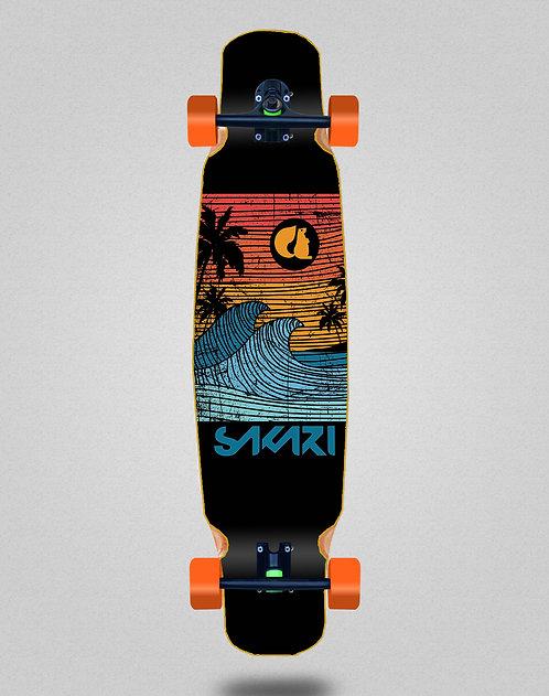 Sakari Cali dream orange longboard dance complete 46x9