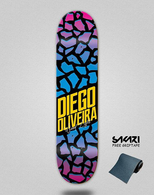 Wood light skate deck Oliveira pro parts