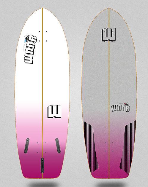 Wnnr surfskate deck Deep pink 29