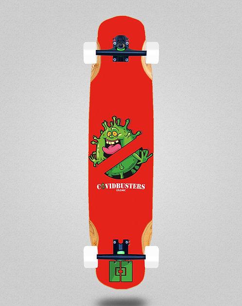 Cromic Covid Busters longboard complete 38x8.45